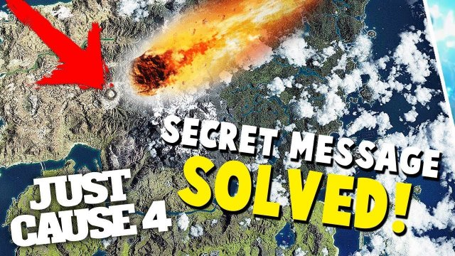 JUST CAUSE 4 MAP SECRET CODE SOLVED! This is actually CRAZY!
