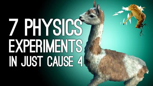 Just Cause 4 Gameplay: 7 Physics Experiments We Did in Just Cause 4 For Science