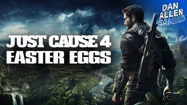 Just Cause 4 - Best Easter Eggs, References & Secrets