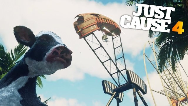 A DAY AT THE THEME PARK in Just Cause 4