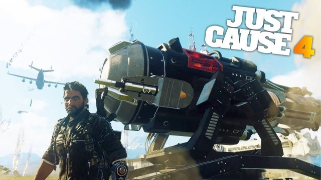 WIND CANNON EXPERIMENTS in Just Cause 4