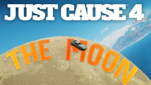 A Super Secret Moon Suspended Inside A Mountain!?  - Easter Eggs & Challenges - Just Cause 4