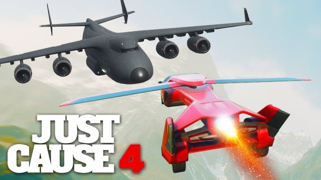 Just Cause 4 - IMPOSSIBLE FLYING CAR STUNT!
