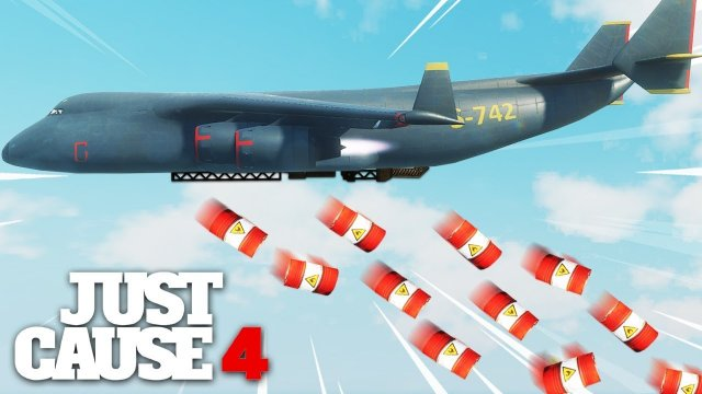 Just Cause 4 - BIGGEST BOMBER PLANE EVER!