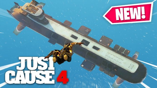 Just Cause 4 - NEW GIANT SUBMARINE DANGER RISING DLC!