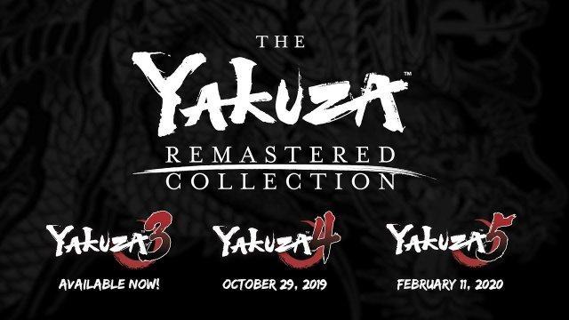 The Yakuza Remastered Collection | Announcement Trailer (DE USK)