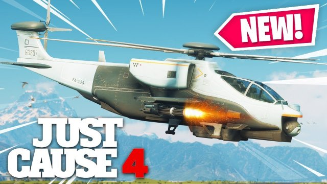 Just Cause 4 - NEW AGENCY HELICOPTER IS A BEAST!