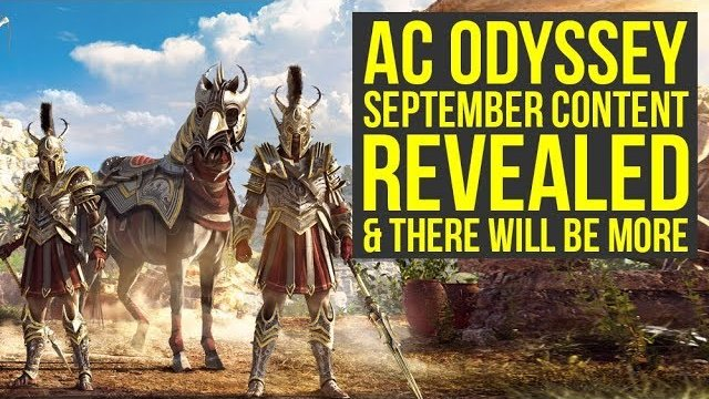 Assassin's Creed Odyssey DLC - New September Content Revealed & There Will Be More! (AC Odyssey DLC)